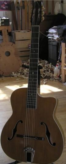 guitares vintage jazz luthier guitare castelluccia paris. Black Bedroom Furniture Sets. Home Design Ideas